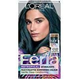 L'oreal Paris Hair Color Feria Multi-faceted Shimmering Permanent Coloring, Tropical Teal