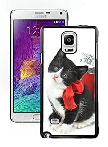 Customization Christmas Cat Black Samsung Galaxy Note 4 Case 27