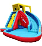 Spring & Summer Toys Banzai Sidewinder Falls 15 Foot Inflatable Waterpark Water Slide