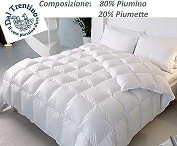 best website 52d81 125b8 VERO Piumino d'OCA Trentino letto Matrimoniale Piumoni per sacco  copripiumino