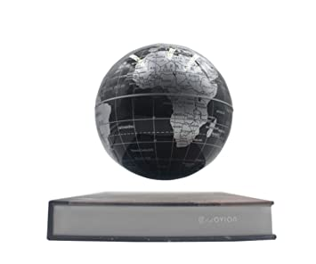 Glovion book style anti gravity globe with world map novelty glovion book style anti gravity globe with world map novelty inductive magnetic levitation floating spinning globe gumiabroncs Gallery