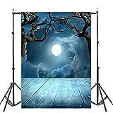 1pcs New Creative Halloween Backdrops Pumpkin Vinyl 3x5FT Lantern...