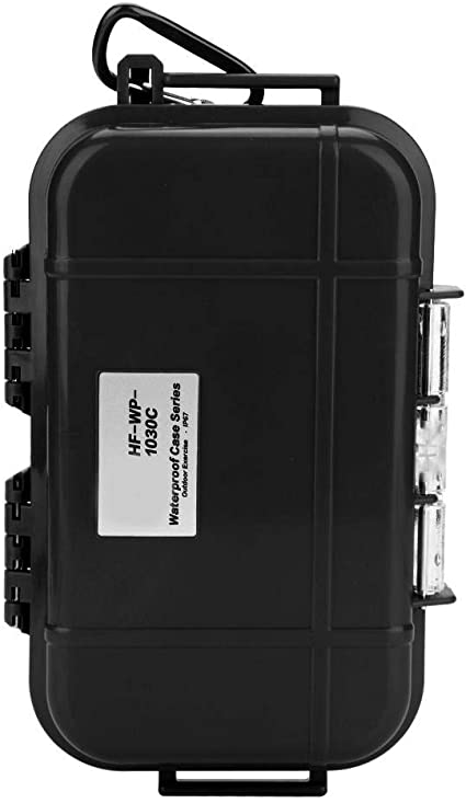 Shockproof Waterproof Storage Case Camping Boating Container Dry Box Black