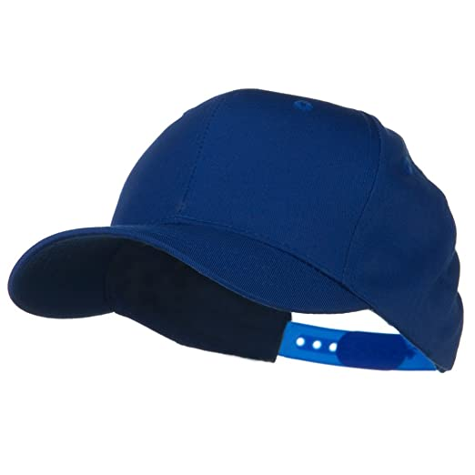 21af433bdb6 Amazon.com  Youth Cotton Twill Pro Style Cap - Royal OSFM  Baseball Caps   Clothing