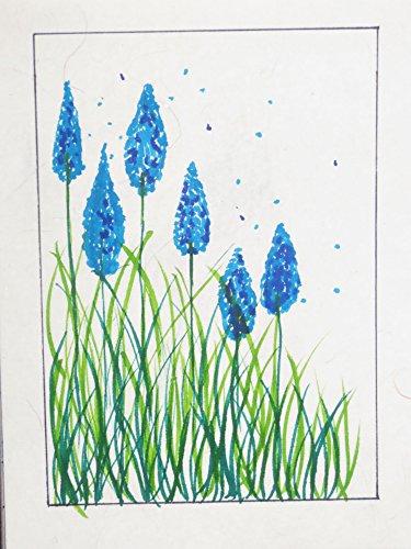 - Blue crop flower