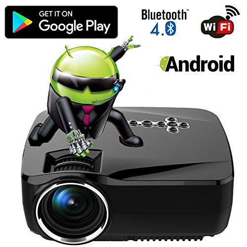 top 5 best led projector android,sale 2017,Top 5 Best led projector android for sale 2017,