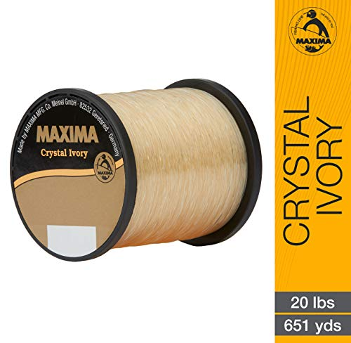 - Maxima - Crystal Ivory 1/4 lb 20 lb 651Yd