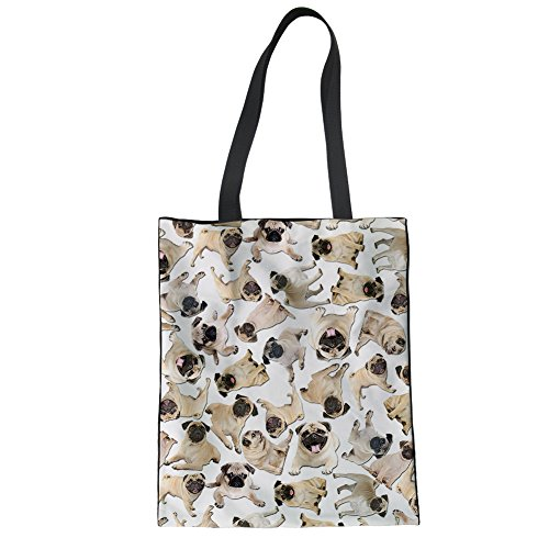 Showudesigns CC1965Z22, Borsa a mano donna Multicoloured Taglia unica dog 5