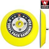 Neiko 30261A 5-Inch Vinyl Face PSA Sanding Pads for Dual Action Air Sander, 10,000 RPM