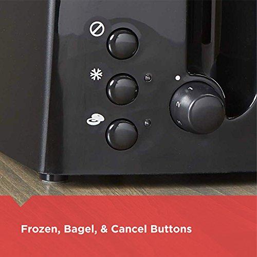 BLACK+DECKER 4-Slice Toaster, Extra-Wide, Black, TR1410BD by BLACK+DECKER (Image #5)
