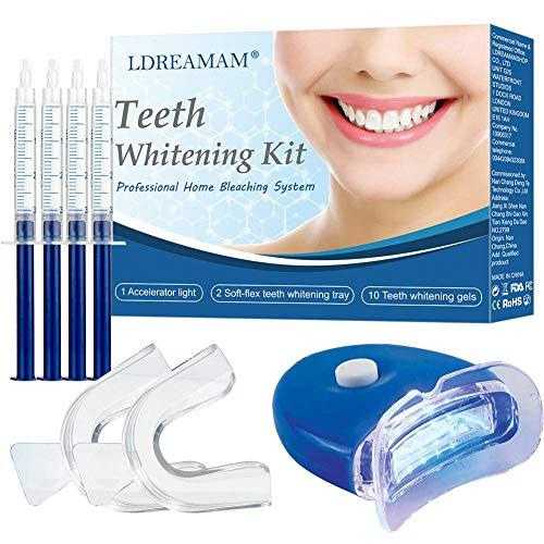 Professional Teeth Whitening Kit,Teeth Whitening Gel,Home Teeth Whitening Kit,Tooth Whiten Gel Dental Care Home Professional Bleaching Kit Light Dental Whitening - Bleaching Dental Teeth