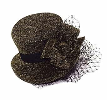 Forum Women's Steampunk Mini Hat On A Headband, Brown, One Size