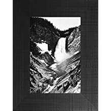 Yellowstone Falls By Ansel Adams 26x20 Glacier Montana Grand Teton National Park Yellowstone Western Wyoming Framed Art Print Wall Décor Picture