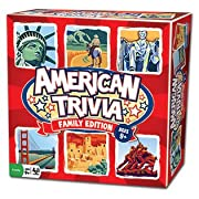 Amazon Lightning Deal 100% claimed: Trivia Game - American Trivia Family Edition - the America Themed Family Board Game
