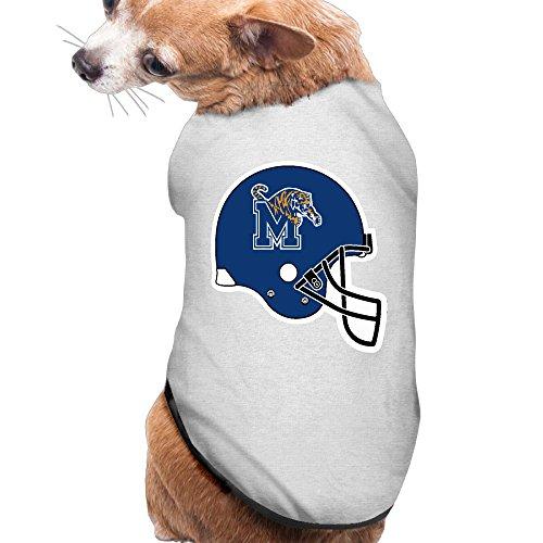 Memphis Tigers Helmet Cute Pet Dog Puppy Clothes Shirt