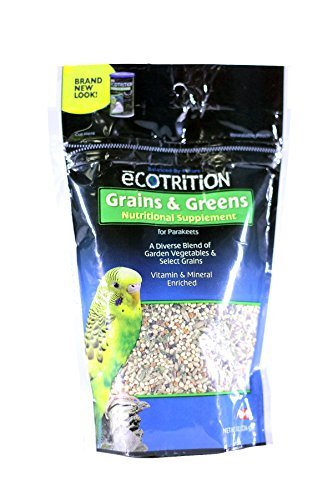 Parakeet Ecotrition Grains & Greens 8oz