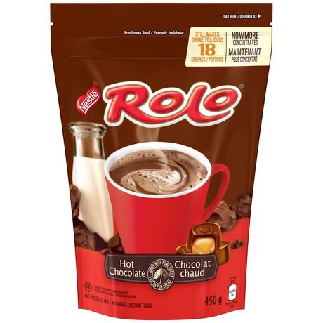 Nestle Rolo Hot Chocolate Cocoa Mix 450g {Imported from Canada} ()
