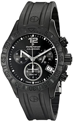 Claude-Bernard-Mens-10209-37N-NIN-Analog-Display-Swiss-Quartz-Black-Watch
