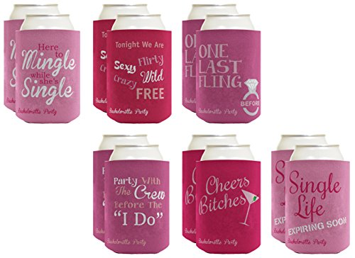 Coolie Bachelorette Wedding Coolers Coolies