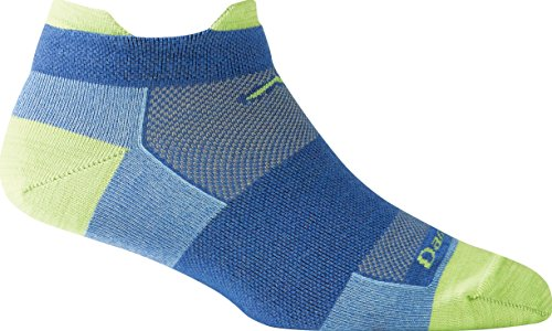 Womens-Darn-Tough-No-Show-Tab-Ultra-Light-Run-Sock-Swedish-Blue-US-S