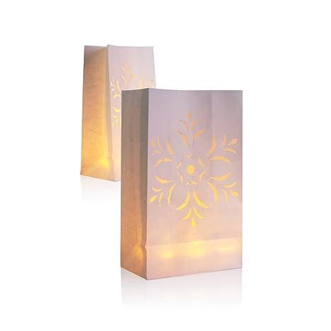 30 paquetes de 10 farol de papel vela, velas té luz bolsa ...