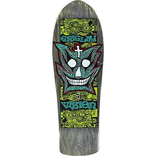Vision GRIGLEY III Skate Deck-9.75x31 Black/GRN/Teal/WHT