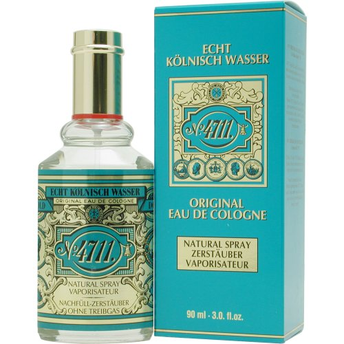 4711 by Muelhens Eau De Cologne Spray for Unisex, 3 Ounce -