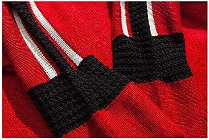 Usopu Mens Color Block Turtleneck Long Sleeve Sweater