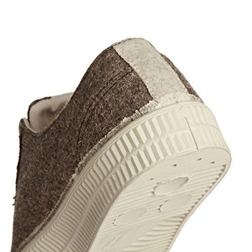 Felt Sneaker Sarubeco 106 Ecru Uw Master Novesta Star wqF81a