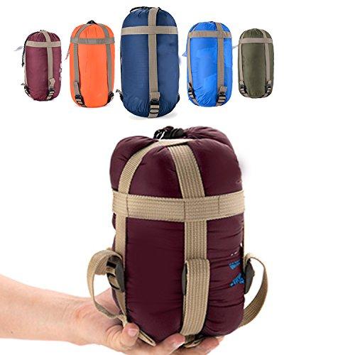 OZAVO Camping Schlafsack Schlafsäcke Outdoor zum Zelten - Klein, warm und wasserdicht Sommerschlafsack Deckenschlafsack Sleeping Bag Außen ultraleicht Outdoor
