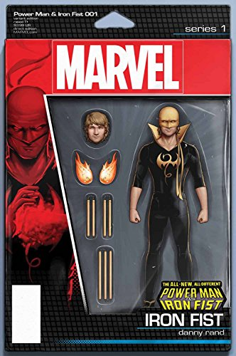 POWER MAN AND IRON FIST #1 IF ACTION FIGURE VAR