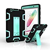 lg 3 tablet cases - LG G Pad X 8.0/G Pad III 8.0 Case, FIREF1SH Heavy Duty Tough Rugged Cover [Shock Proof] Hybrid Silicone and Hard PC Case for LG G Pad X 8.0 Tablet/LG G Pad III 8.0 V520/V521/V522/V525 -Black+Green