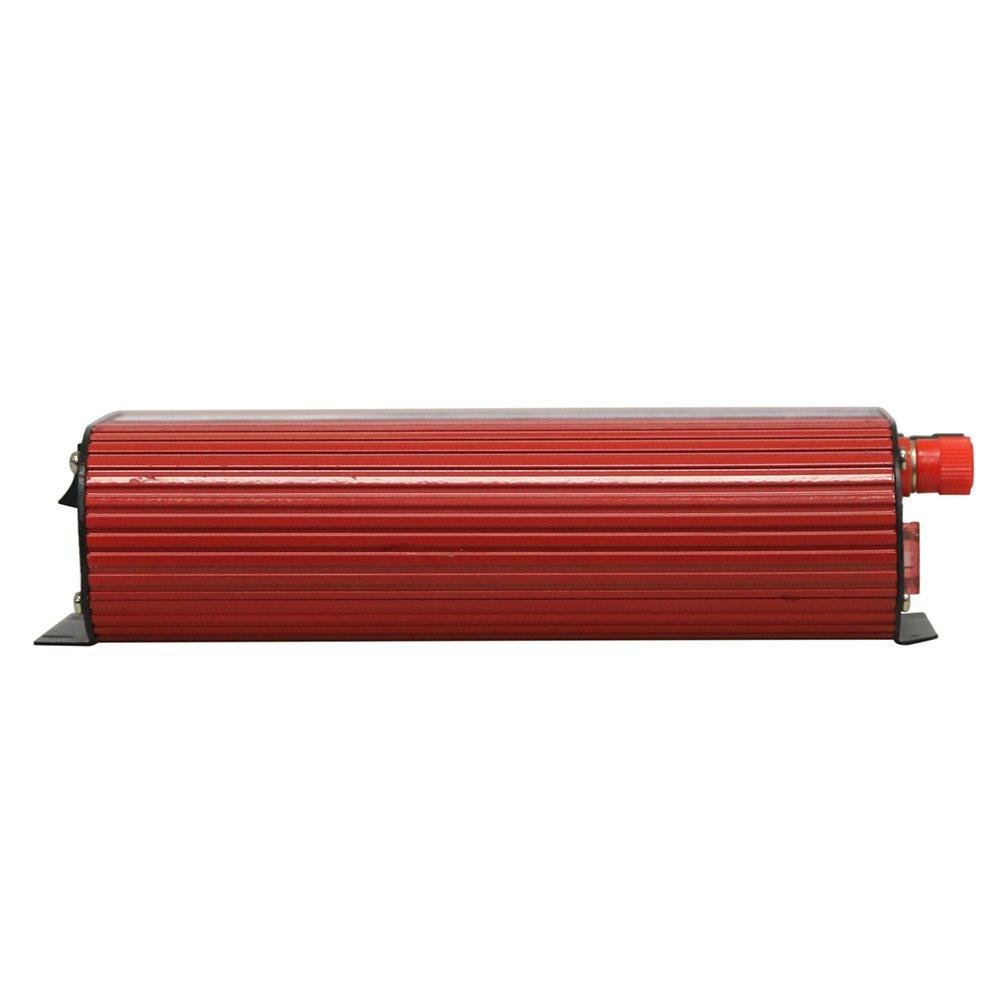 TOPmountain 5000W Peak Power Inverter f/ür Auto DC 12V zu 220V AC-Konverter mit Dual-USB f/ür Hausger/äte