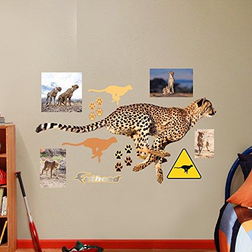 cheetah wall decals - 6