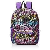 Accessories 22 Girls' Splatter Zebra 5pc Backpack Set, Multi