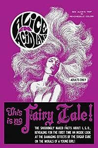 Alice in AcidLand by Vintage Vices Movie Film Drug Acid Print Poster 16x24