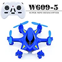 MOBILERIES MINI HEXA-DRONE 2.4G with LED lights-Blue
