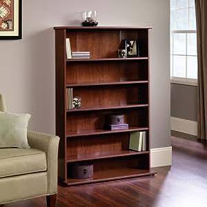 sauder graham hill multimedia storage tower in autumn maple finish home kitchen. Black Bedroom Furniture Sets. Home Design Ideas