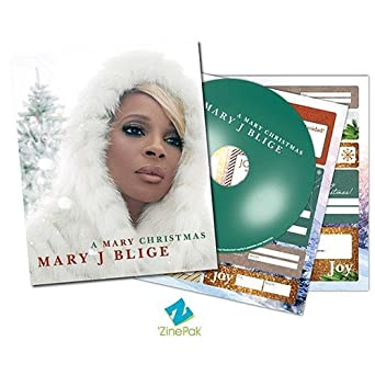 Mary J  Blige - A Mary Christmas 'ZinePak Includes CD, 64 Page