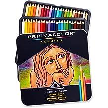 Prismacolor 3598T Premier Colored Pencils, Soft Core, 48-Count