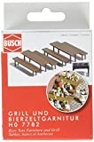 Busch 7782 Beer Tent Furniture/Grill HO Scenery Scale Model