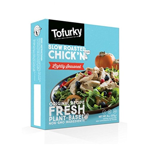 Tofurky Slow Roasted Chick'n, 8 Ounce (Pack of 5)