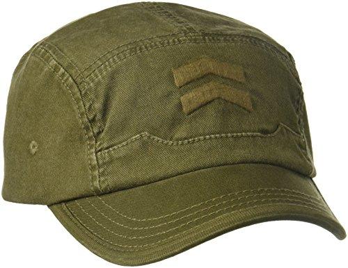 A. Kurtz Men's Chevrons Camp Baseball, Olive Drab, (A Kurtz Spandex Hat)