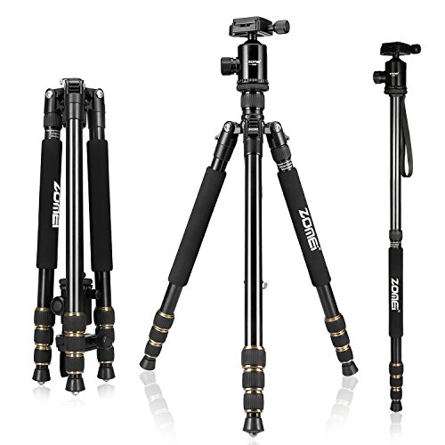 ZOMEI Z688 Tripod Magnesium Alloy Monopod with Ball Head for DSLR Camera