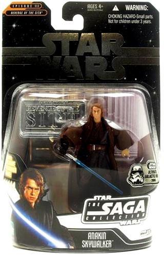 Star Wars 30th Anniversary Saga Legends DARTH VADER Anakin Skywalker w/ coin