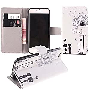 [iPhone 5 5S],Case For iPhone 5,Leather Case For iPhone 5S,Canica Beautiful Printed Wallet Style Leather Case Cover With Stand For iPhone 5 5S #9