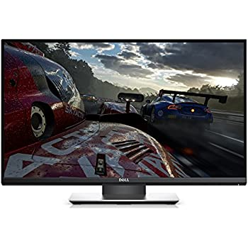 Dell Gaming Monitor S2417DG YNY1D 24-Inch Screen LED-Lit TN with G-SYNC, QHD 2560 x 1440, 165Hz Refresh Rate, 1ms Response Time, 16:9 Aspect Ratio