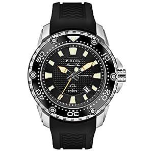 Bulova Reloj Analogico Para Hombre De Autom 225 Tico Con