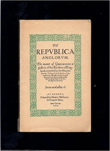 Foros para descargar libros electrónicos De Republica Anglorum 1583. (Spanish Edition) PDF DJVU FB2 0854172262
