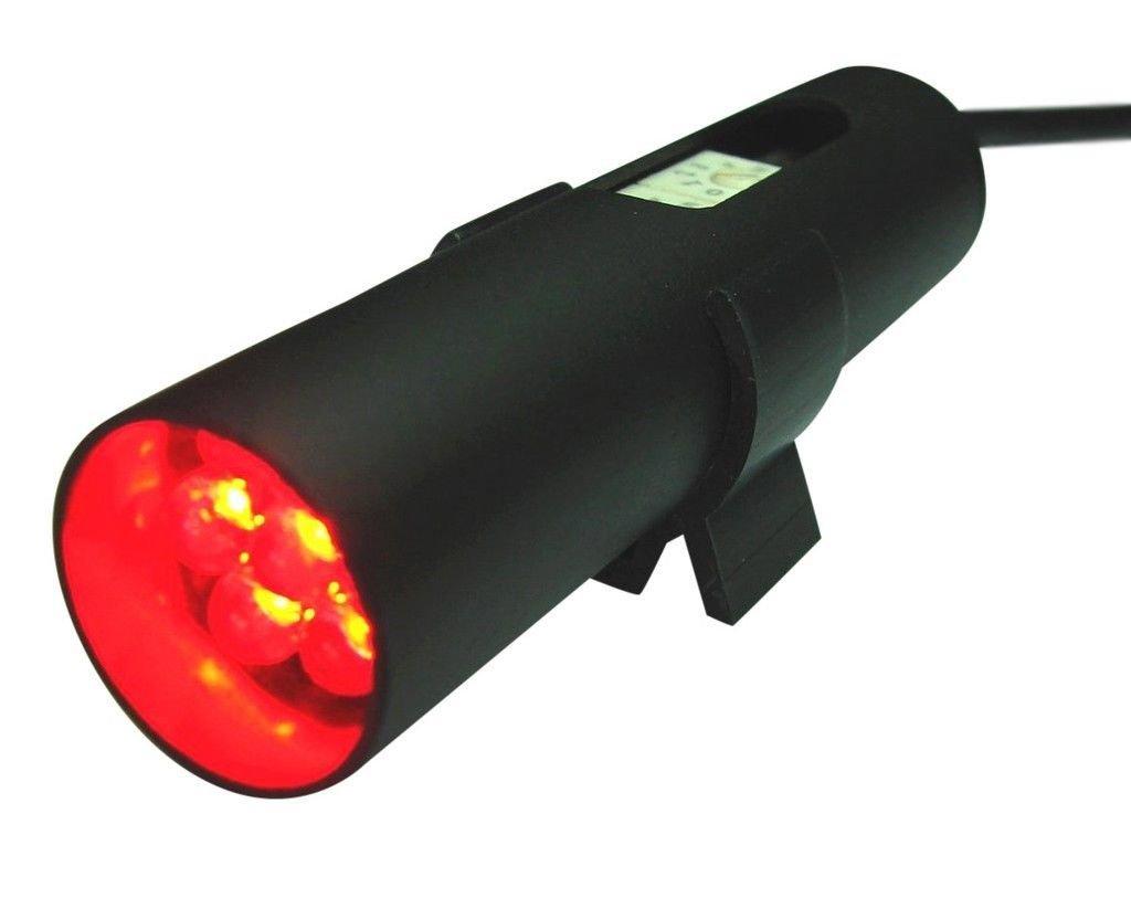 Raptor Shift Light Black Housing with Red Led Single Mode by Raptor Performance
